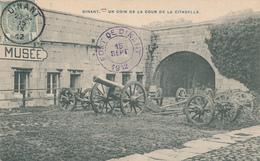 077/27 - Carte-Vue MILITARIA - Fort De DINANT - Cachet Privé + TP Armoiries DINANT 1912 - Dinant