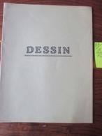 CAHIER D' ÉCOLIER - Neuf  - POUR LE DESSIN  - Couverture Jaune Pêche  -  4 Photos. - Autres Collections