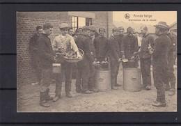 ARMEE BELGE DISTRIBUTION DE LA SOUPE - War 1914-18