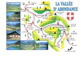 La Vallée D'Abondance (Haute Savoie)-Vacheresse-La Chapelle-Châtel-Lac De Vonnes-Le Pas De Morgins - Abondance