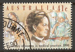 Australia 1990 Mi# 1187 (CTO) DR. CONSTANCE STONE, AUSTRALIA'S FIRST WOMAN DOCTOR - 1990-99 Elizabeth II