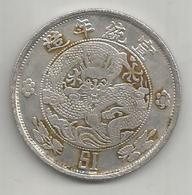 Cina, Impero, 1910, Dollar, Weight Gr. 20,39. - Cina