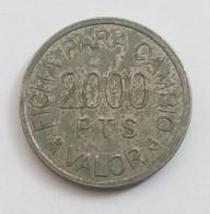 RECREATIVOS FRANCO 2000 PESETAS - Spain