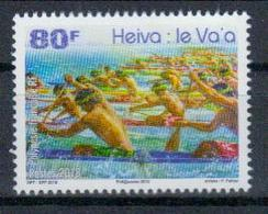 Frz.-Polynesien 'Va'a-Auslegerkanu-Regatta ' / French Polynesia 'Va'a Outrigger Canoe Race' **/MNH 2018 - Kano