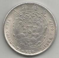 Cina, Impero, 1906, Tai Ching Ti Kuo Dollar, Weight Gr. 20,53. - Cina