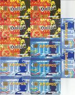 12 Télécartes ALLO ALLEMAGNE Et GRECE - 50 Et 120 U  Différentes ( N° 1166, 1167, 1170, 1171 ) - Francia