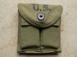 Porte Chargeur USm1 1943 Et 2 Chargeurs 15 Coups Neutralisés - Decorative Weapons