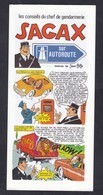 Depliant Les Conseils Du Chef De Gendarmerie Sagax Sur Autoroute Gendarme Securite Routiere Jean Ache ( Pat Apouf ) - Advertisement