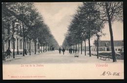 VILVOORDE  LA RUE DE LA STATION - Vilvoorde