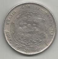 Cina, Impero, 1906, Tai Ching Ti Kuo Dollar, Weight Gr. 20,56. - Cina