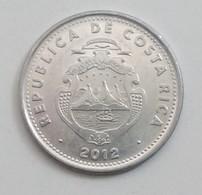 10 COLONES,COSTA RICA,2012 - Costa Rica