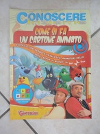 Conoscere Insieme - Opuscoli - Come Si Fa Un Cartone Animato - IL GIORNALINO - Books, Magazines, Comics