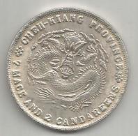 Cina, Impero, 1906, Chen Kiang Dollar, Weight Gr. 19,91. - Cina