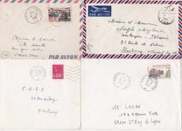INDOCHINE TOE - POSTE AUX ARMÉES - Lot à Voir De 4 Lettres - Légion - 1921-1960: Periodo Moderno