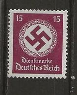 Service-Timbre De 1934/38 Avec Filigr. - Service