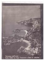 15967   -   TAORMINA,  ISOLA BELLA TRA CAPO TAORMINA E CAPO S.ANDREA     /     VIAGGIATA - Italië