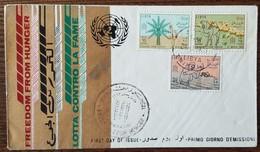 LIBYE - FDC 1963 - YT N°222 à 224 - Campagne Mondiale Contre La Faim - Libya