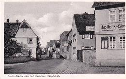 Bad Naüheim ,Hauptstrasse - Bad Nauheim