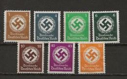 Service-Timbre De 1934/38 Avec Filigr.-Lot De Timbres Sans Gomme. - Dienstpost