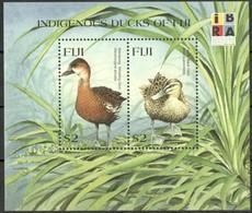 Fiji Fidji 1999 Yvertn° Bloc 32  *** MNH Cote 10 Euro Faune Oiseaux Vogels Birds - Fidji (1970-...)