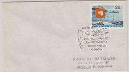 Argentina 1974 Dia Nacional De La Antartida Ca 22 Feb 1974 Cover (40092) - Argentinië