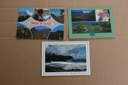 La Réunion : Lot De 3 Cartes - Reunion