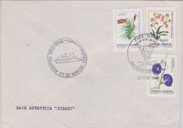 Argentina 1987 Antarctica Base Jubany  Ca 26 Feb 1987 Cover (40094) - Postzegels