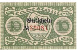 Deutschland Notgeld 10 Pfennig Tieste3335.05.05 KALLIES /01M/ - [11] Local Banknote Issues