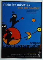 CARTE POSTALE CPM PUBLICITAIRE PLEIN LES MIRETTES AVEC DES LUNETTES 1999 - Children's Drawings