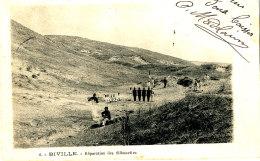 AL 501 - C P A   -  BIVILLE   (50)   PREPARATION DES SILHOUETTES - France