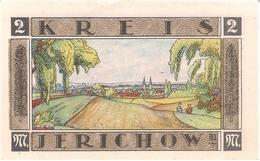 Deutschland Notgeld 2 Mark Mehl658.1 JERICHOW /02M/ - [11] Local Banknote Issues