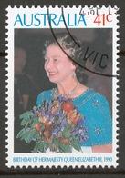 Australia 1990 Mi# 1202 (CTO) QUEEN ELIZABETH'S 64th BIRTHDAY - 1990-99 Elizabeth II