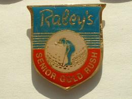 PIN'S GOLF  - RALEY'S SENIOR GOLD RUSH - Golf