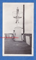 Photo Ancienne Snapshot - OUISTREHAM ( Calvados ) - Au Bout De La Jetée , Phare ?- 1932 - Boat Ship Normandie Riva Bella - Boats