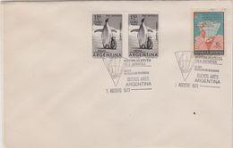 Argentina 1971 Muestra Filatelica Antarctica  Ca 5 Agosto 1971 Cover  (40100) - Argentinië