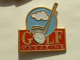 PIN'S GOLF  MAGAZINE - Golf