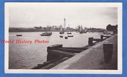 Photo Ancienne Snapshot - OUISTREHAM ( Calvados ) - Le Port - 1932 - Bateau Boat Ship Normandie Riva Bella - Boats