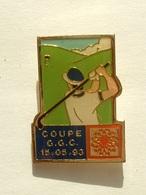 PIN'S GOLF - GROUPE G.G.C - Golf