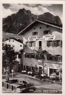 KASTELRUTH-CASTELROTTO-BOZEN-BOLZANO-ALBERGO=POSTA.AGNELLO=CARTOLINA ANNO 1950-55 - Bolzano