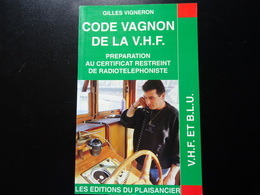 Code Vagnon De La V.H.F. - Bateaux