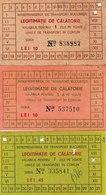 Romania, 1990's, Lot Of 3 Transport Passes For All Public Transport, ITB - Transportation Tickets