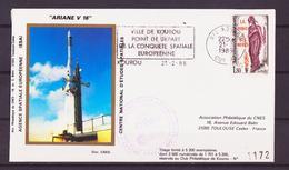 ESPACE - ARIANE Vol Du 1986/02 V16 - CNES - 8 Documents - Europa