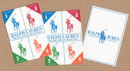 CC Carte Parfumée 'RALPH LAUREN' 1234 Perfume Card BLOTTER X 3 - Modern (from 1961)