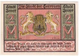 Deutschland Notgeld 2 Mark JEVER /02M/ - [11] Local Banknote Issues
