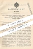 Original Patent - Werkzeug Maschinenfabrik Vorm. W. V. Pittler AG , Leipzig / Wahren , 1901 , Arbeitsmesser   Messer !!! - Historical Documents