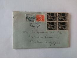 Lettre Envoyée De Utrecht Vers Charleroi En 1947 ... NA69 - 1891-1948 (Wilhelmine)