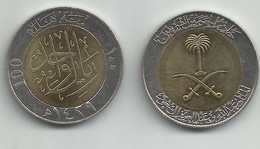 Saudi Arabia,100 Halala 1429 UNC - Saudi Arabia