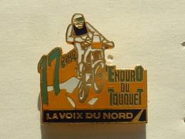 PIN'S 17éme ENDURO DU  TOUQUET - LA VOIX DU NORD  - MOTO - Motorbikes