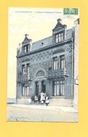 """Carte Postale Couleur """" Villas Nettens Frères """" à ZUYDCOOTE - France"""