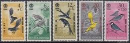 Indonesia 1965 - Social Day: Birds - Mi 460-464 ** MNH - Indonesia